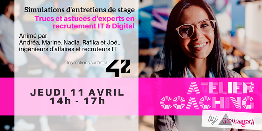 ATELIER COACHING by GroupAgora